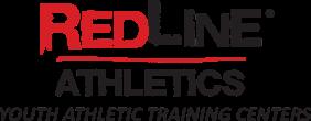 RedLine Athletics Logo Red-&-Black Lettering
